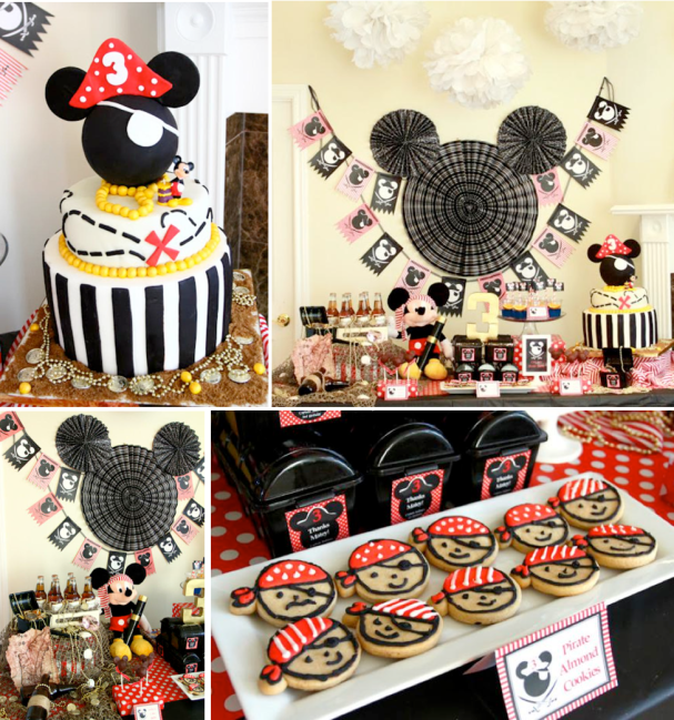 Minnie Mouse First Birthday Party Via Little Wish Parties: XMickey Mouse