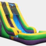 18ft water slide with splash pool $199 dry and $239 wet